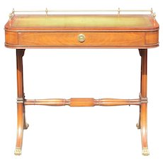 Fine  English Regency style bureau writing desk