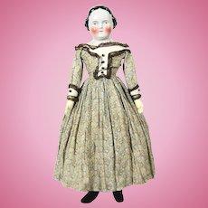 Large Antique Kestner China Head Doll