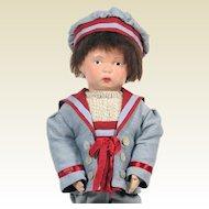 Antique Schoenhut Walker Wooden Doll