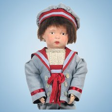 Antique Schoenhut Walker Wooden Doll