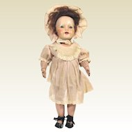 Antique Schoenhut 100 Series glass eyed Mystery doll