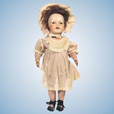 Antique Schoenhut 100 Series glass eyed Mystery doll