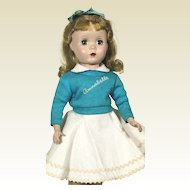 Vintage Madame Alexander hard plastic Annabelle Doll