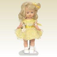 Vintage 50's Muffie Walker Doll