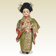 Antique Simon Halbig 1129 / 1199 Oriental Doll