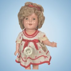 Composition Ideal Shirley Temple Doll