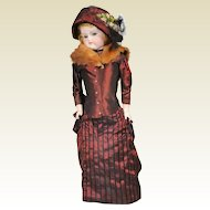 Alt Beck and Gottschalck ABG Turned Head French Fashion Doll