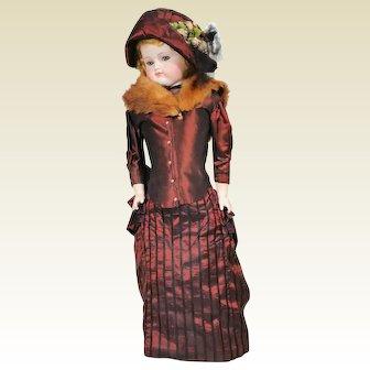 Alt Beck and Gottschalck ABG Turned Head French Fashion Doll