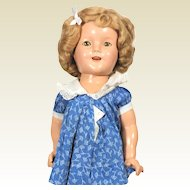 18 inch Ideal  composition Shirley Temple Doll