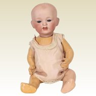 Japanese Yamamoto Importing Company Bisque Head Baby Doll
