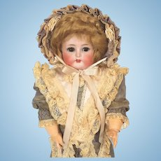 Kammer Reinhardt Character Faced Bisque Head Doll