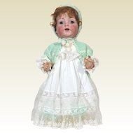 Kammer Reinhardt 121 Character Faced Bisque Baby Doll