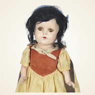Madame Alexander Composition Snow White Doll