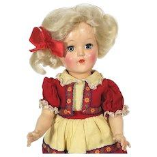 Ideal P90  Blonde Toni hard plastic P-90 Doll