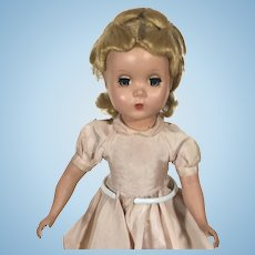 Madame Alexander Hard Plastic Maggie Faced Alice in Wonderland Doll