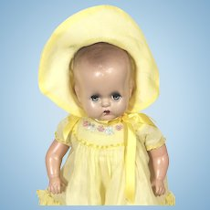 Vintage Horsman Composition Mama Doll Baby