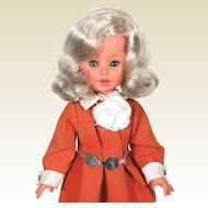 1960's Italian Furga Teen Fashion Vinyl  Doll