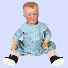Armand Marseille 500 Bisque Head Character Boy Doll