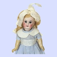 Antique Sonnenberg Belton Bisque Head Doll