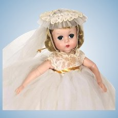 Madame Alexander Lissy Bride Doll  # 1160 from 1957