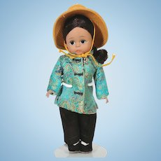 Madame Alexander 1970's Alexander-kins China doll with box