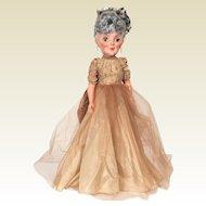 Royal Doll company Grannykins doll 1950's