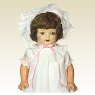 All Original  Composition and cloth Mama doll from the 1920's