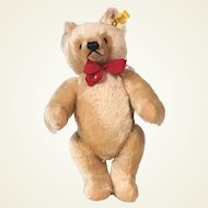 Steiff honey blond bear 0201/36 mohair Bear1982 - 1987