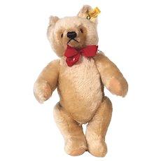 Steiff honey blond bear 0201/36 mohair Bear1982 - 1987