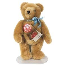 Hermann golden German mohair Teddy Bear 1980's
