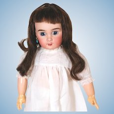 Lanternier Limoges French Cherie bisque head Doll