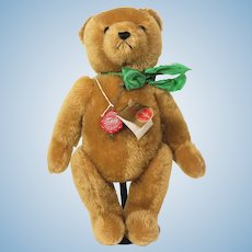 Hermann golden Mohair German Teddy Bear 1980's