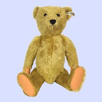Steiff limited edition replica of first Mohair Teddy Bear 100 anniversary