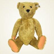 Steiff limited edition replica of first Mohair Teddy Bear 100 anniversary