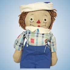 1950's Johnny Gruelle's Own Raggedy Andy by Georgene Novelties