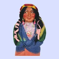 Vintage composition Skookum Indian Doll
