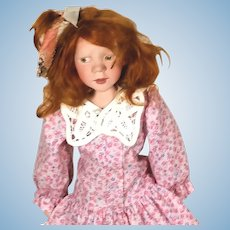 Artist McAslan limited edition Charlotte Childhood Expressions Character Doll