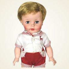 Madame Alexander vinyl John John toddler prototype doll 1960's