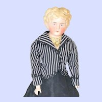 Alt Beck and Gottschalk (ABG) 136 blond (Cafe Au Lait) Parian Head doll
