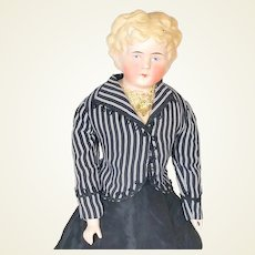 Alt Beck and Gottschalk (ABG) 136 blond (Cafe Au Lait) Parian Head doll