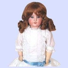 Antique German Schoenau Hoffmeister (S star H) bisque head doll