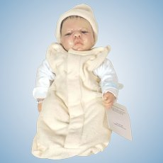 OOAK  Newborn Baby Doll Carter sculpted By Artist Carol Kneisley 2004