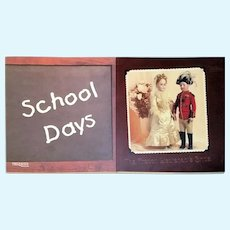 """School days"" and ""The French Lieutenant's Bride"" Theriaults Doll Auction Catalogs by Florence Theriault"