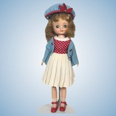 American Character 1957 Betsy McCall doll with Co-Ed outfit from 1958
