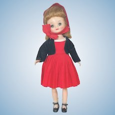 American Character Tiny Betsy McCall Doll Holiday Outfit 1958