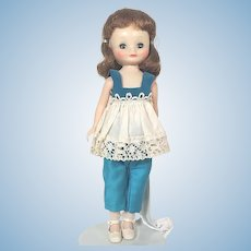 American Character Betsy McCall Doll in TV Time outfit #9153 from 1962