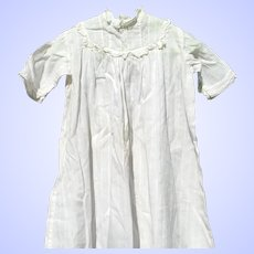 Antique Doll Night Gown or Christening Gown