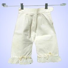 Antique Doll Bloomers