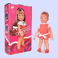 Ideal grow hair Cinnamon Doll Mint In Box Velvet's little sister
