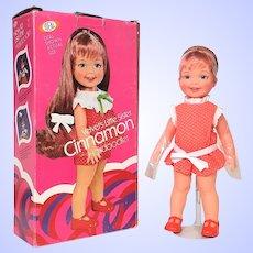Ideal grow hair Cinnamon Doll Mint In Box Velvet's little sister